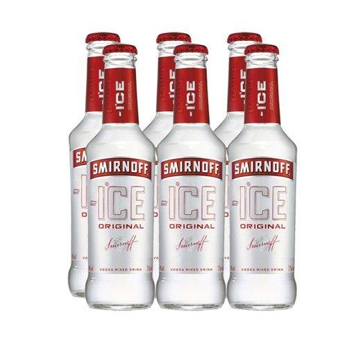 Smirnoff Ice Alcohol Content