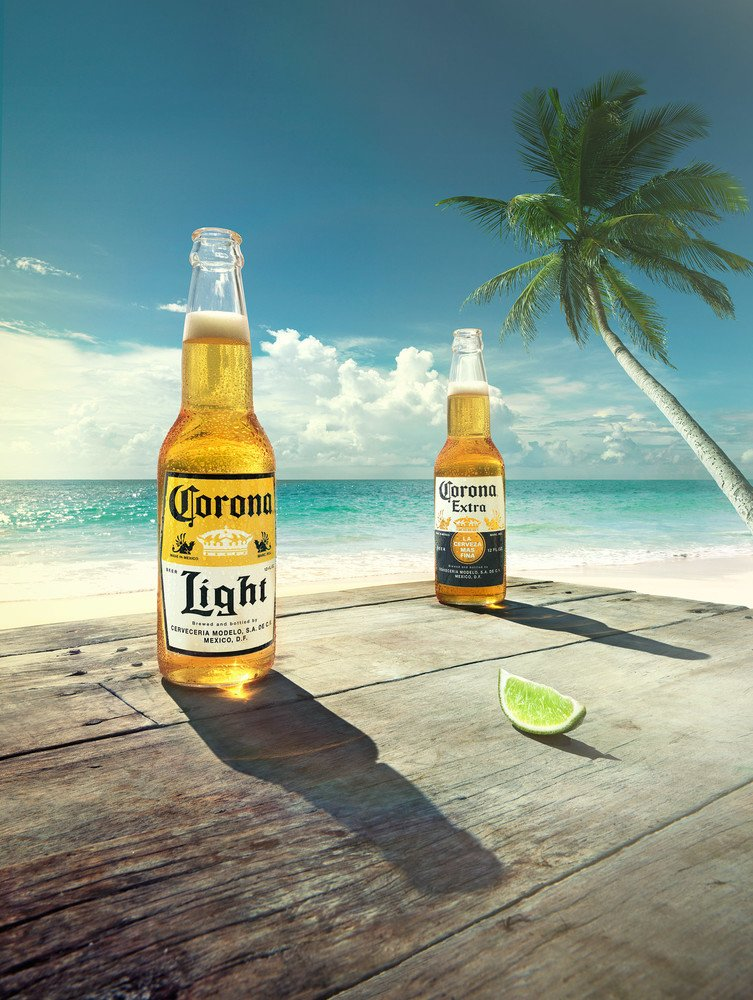 Corona alcohol content