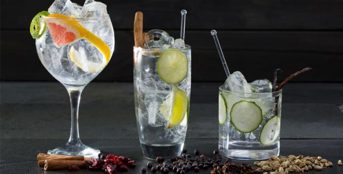 gin alcohol content